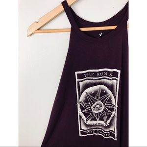 American Eagle Outfitters Tops - AEO Sun & Moon Tank XS